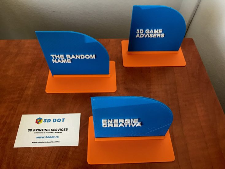 3D Printing, Imprimare 3D, Blue, 3D, Printshop